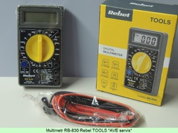 Digital Multimeter RB-830 Rebel TOOLS