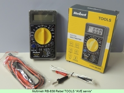 Digital Multimeter RB-838 Rebel TOOLS